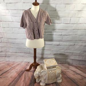 Lulu's 100% cotton Crop Top